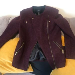 Wool and Cotton Blend Jacket